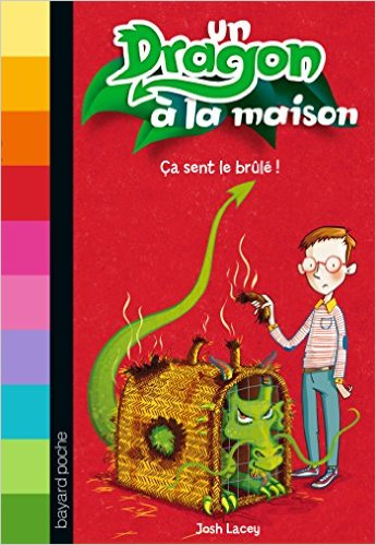 Un dragon a la maison t 1 a sent le br l josh lacey for As tu un animal a la maison